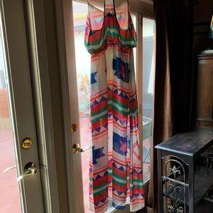 Dresses - Boutique Maxi Dress, Southwest Print